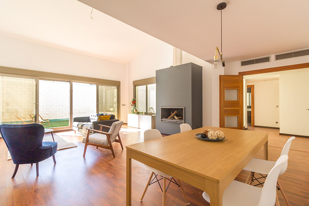 Chalet piloto con Home Staging